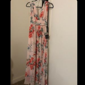 Brand new Floral dress from LuLus